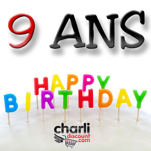 CharliDiscount a 9 ans